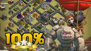 Ataque Chino TH9 vs TH9 100% | Clash of Clans