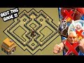 Clash Of Clans Town Hall 5 Defense Base Coc Th5 Base | Best Th5 Hybrid/trophy/