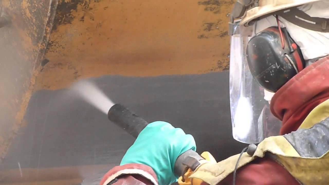 Пескоструйная очистка металла своими руками 20