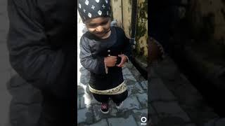 Punjabi Fashion of the little girl