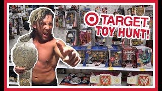 TOY HUNT!!! HITTING THE TARGET WITH KENNY OMEGA!!! WWE Wrestling Mattel Figure Fun #110