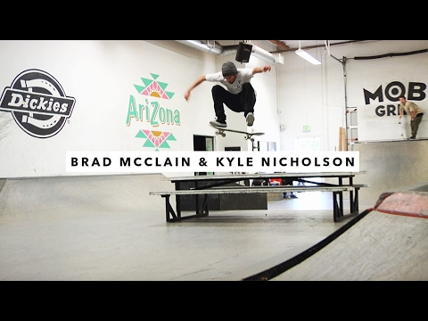 Brad McClain and Kyle Nicholson