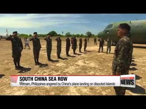 Vietnam, Philippines protest China′s plane landing on disputed islands