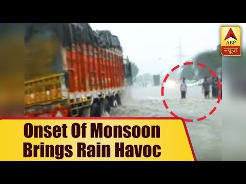 Onset Of Monsoon In Haryana's Yamunanagar Brings Rain Havoc, Situation Same In Bikaner | ABP News