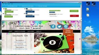 Email EXTRACTOR, Facebook account, Twitter, Linkedin and Auto post
