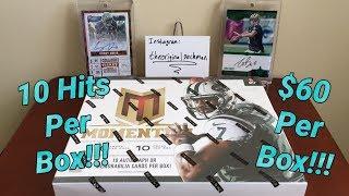 2013 Panini Momentum Football Hobby Box Break - 10 Hits Per Box!!!