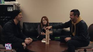 Twenty One Pilots Jenga Interview With Heather Collins From Mix 94.1