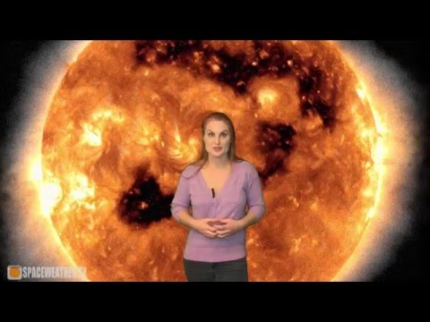 Out with the Coronal Holes, In with the Flares: Solar Storm Forecast 12-10-2015