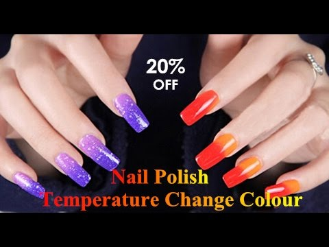 Temperature Change Nail Polish Changing Nail Polish