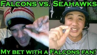 Seahawks vs. Falcons Prediction: My bet with Atlanta Falcons fan, SLITA