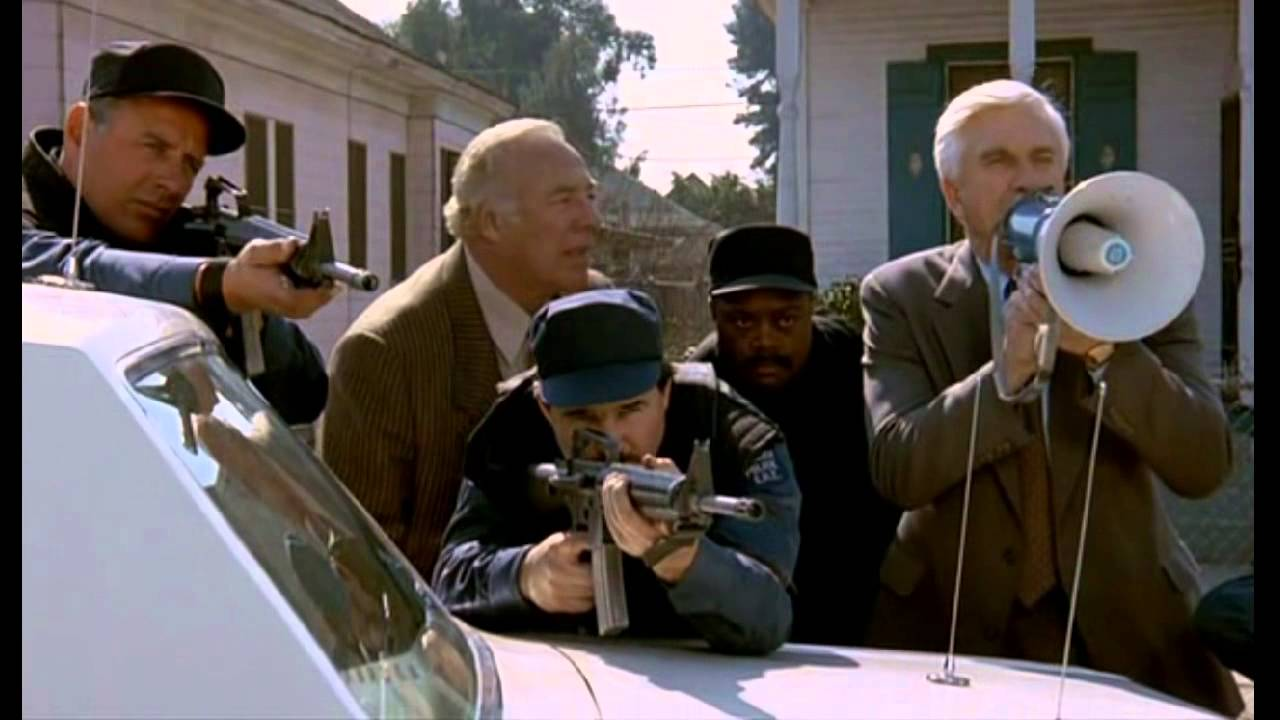 The Naked Gun 2½: The Smell of Fear (1991) — Art of the Title