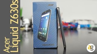 Acer Z630s - flash review