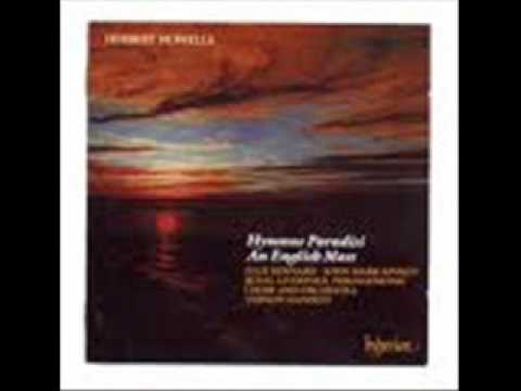 Herbert Howells Preludio Hymnus Paradisi