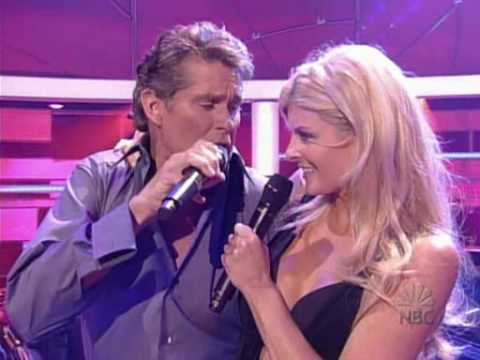 david hasselhoff - jump into my car (live)