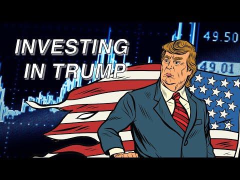 Ab auf die Börse mit Donald Trump
