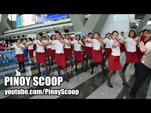 Cathay Pacific Personnel Surprises Passengers With Flash Mob