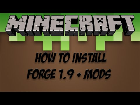 Minecraft Tutorial how to install Forge and mods on a server 1.9 (PC)