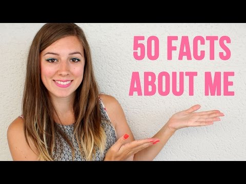 ♡ TAG - 50 Facts about me ♡