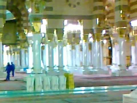 Inside Madinah Haram Sharif