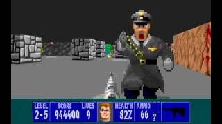 Wolfenstein Missions level 2-5: Missile Command