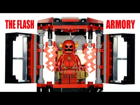 LEGO CW's The Flash Armory Tech Gear KnockOff Set Speed Build
