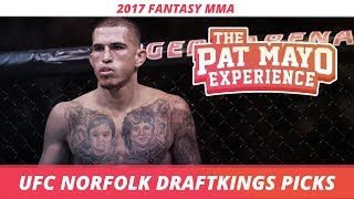 2017 Fantasy MMA: UFC Norfolk DraftKings Picks & Preview