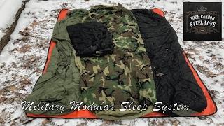 Military Modular Sleep System - My High Quality, All-Season Sleeping Bag - HighCarbonSteel Love