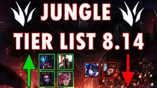 Jungle Tier List Patch 8.14 | Best Junglers To Carry Solo Q Patch 8.14