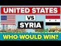 USA Vs Syria How Do They Compare Military Comparison mp3
