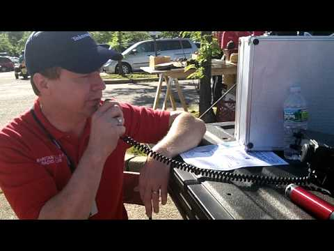 QRP SSB contact on 40m from Hamfest of RVRC, June 2012