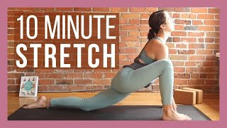 10 min Morning Yoga Full Body Stretch