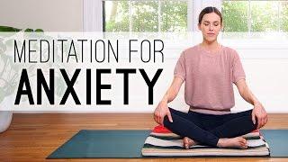 Meditation For Anxiety  Yoga With Adriene