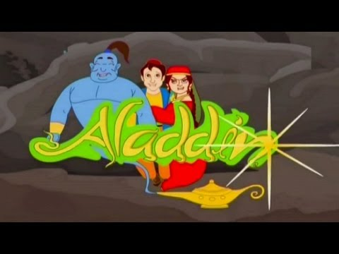 Aladdin Ka Chirag Full Video (animation Film) - Short Animated Movie Hindi video