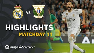 Highlights Real Madrid vs CD Leganés (5-0)