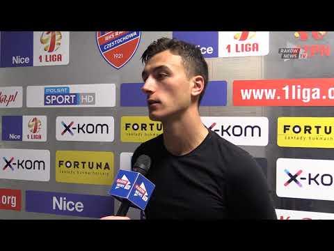 Wypowiedź po meczu. // RKS Raków - Puszcza 3:1 // Raków News Tv