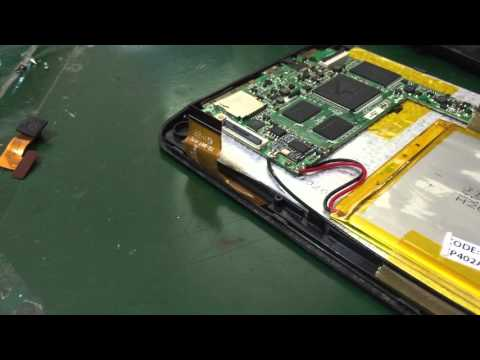 Como abrir tablet Multilaser M7s ( Disassembly tablet Multilaser M7s )