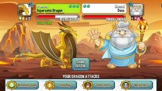 Dragon City - Battle with Deus [Boss in Dragon City]