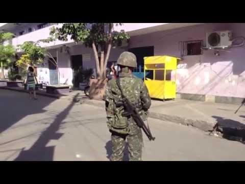 In Rio, Military Clampdown Hits Favelas