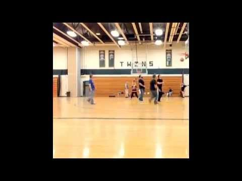 Scott E. Rich Game-Winner pickup game footage at Columbia Greene Community College 2014-#4