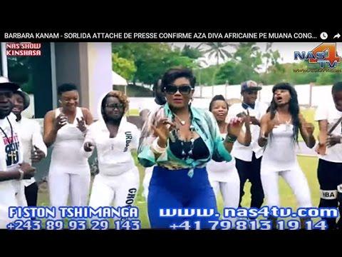 BARBARA KANAM  - SORLIDA ATTACHE DE PRESSE CONFIRME  AZA DIVA AFRICAINE PE MUANA CONGO TEMBE TE.