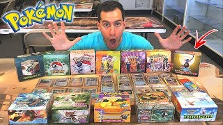 VIP TOUR OF RARE VINTAGE POKEMON CARDS STORE!