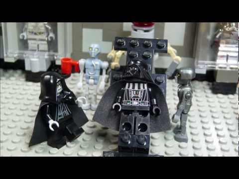 Darth Vader's Transformation - Lego Star Wars spoof