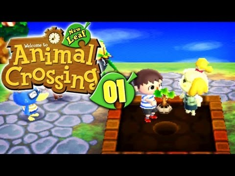 Let's Play Animal Crossing: New Leaf - Part 1 - Bürgermeister Wolo ist da..