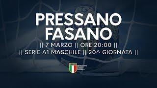 Serie A1M [20^]: Pressano - Fasano 32-22