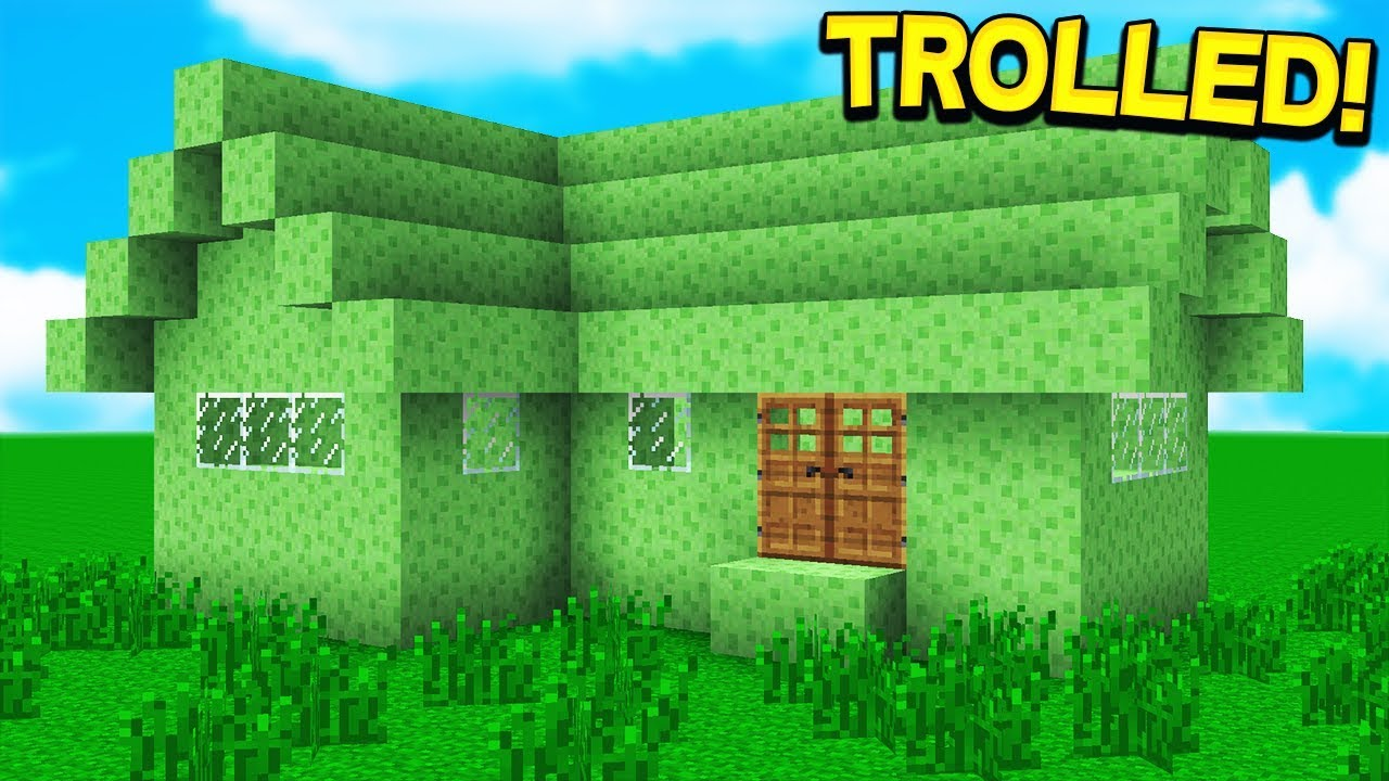 I GOT TROLLED BY 2 YOUTUBERS IN MINECRAFT!!