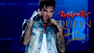 Queen + Adam Lambert - Ghost Town, Rock in Rio (2015) HD