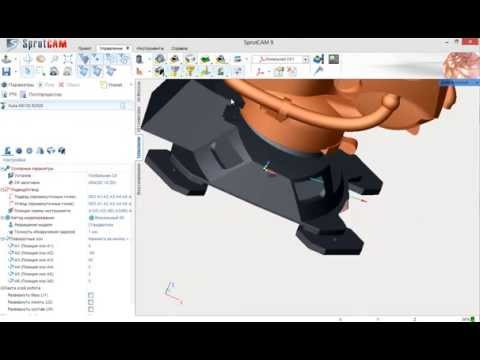 Программирование 5D обработки для промышленных роботов