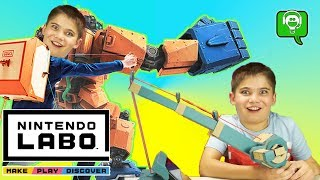 FISHING on LABO NINTENDO Switch! Video Gaming with HobbyPig on the Switch