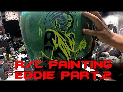 Rc Painting- 55 Iron Maiden Body Part 2 video