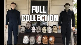 FULL MICHAEL MYERS MASK COLLECTION!